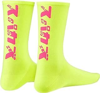 Supacaz Katakana Neon purpura y amarillo neon L//XL