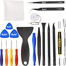 Kaisi Professional Electronics Opening Pry Tool Repair Kit with Metal Spudger Non-Abrasive Carbon Fiber Nylon Spudgers and...