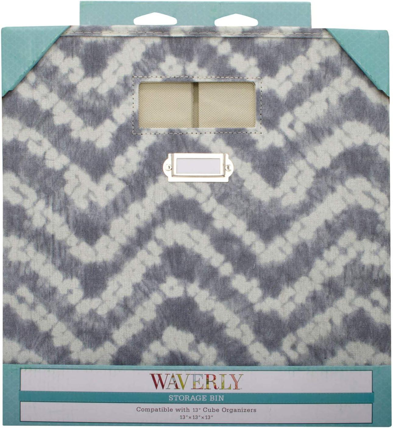 新入荷 現金特価 流行 WAVERLY by Home Expressions Collapsible Storage Large Cube 13