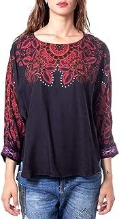 Luxury Fashion | Desigual Womens 19WWBW28BLACK Black Blouse | Autumn-Winter 19