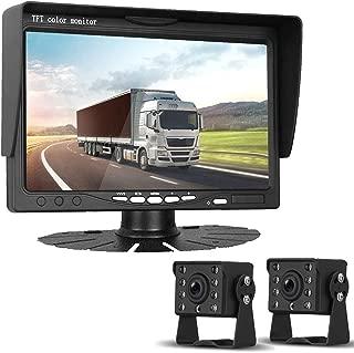 HD 720P Dual Backup Cameras and 7