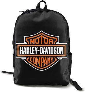 Mochila Harley Davidson Daypack para la escuela, el trabajo y la universidad, mochila deportiva y mochila escolar con compartimento para portátil y acolchado en la espalda