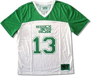 Juniors New Kids On The Block 13 Green & White Fashion Football Jersey Shirt