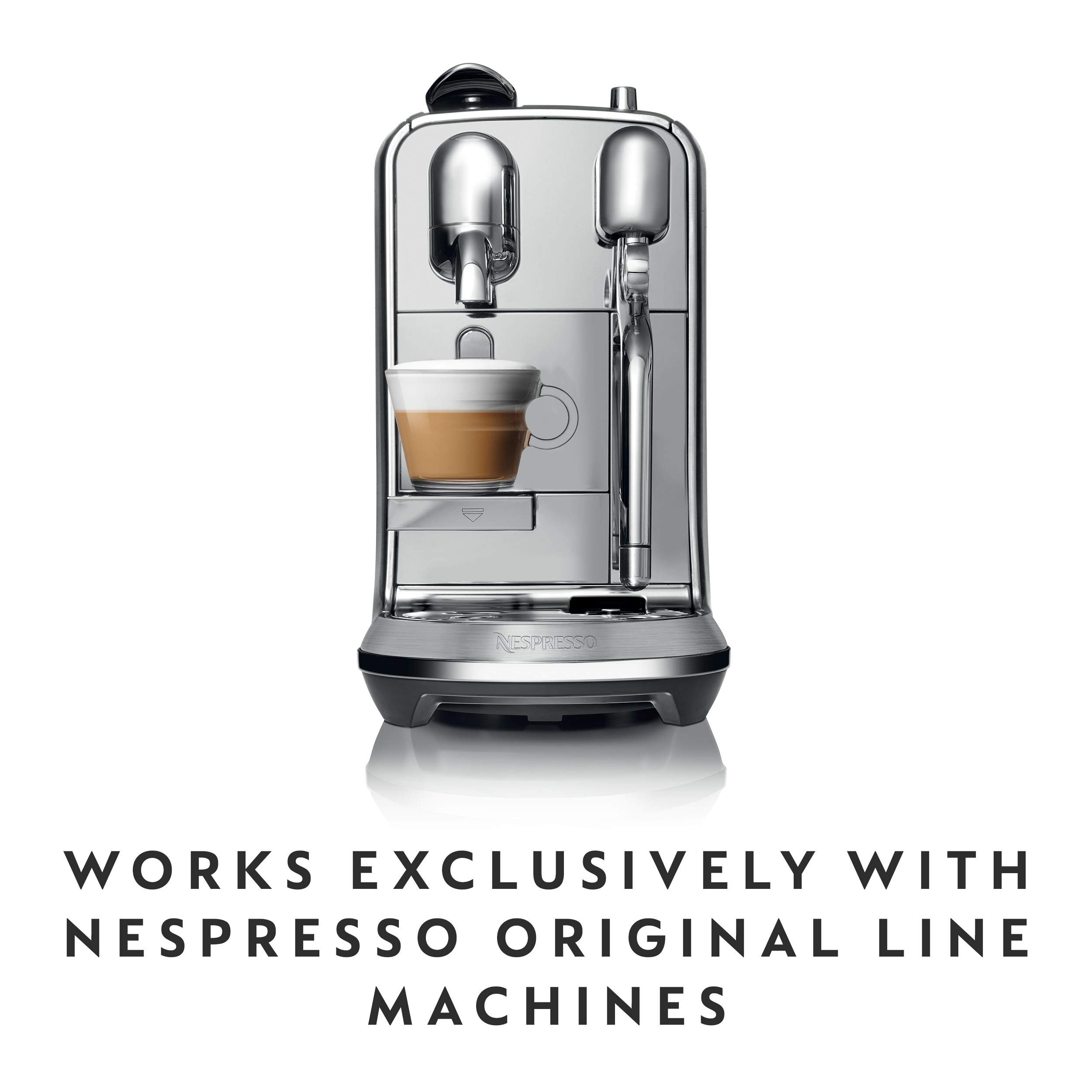 Nespresso Capsules OriginalLine, Arpeggio Decaffeinato, Dark Roast Coffee, Coffee Pods, Brews,1.35 Fl Oz (Pack of 50)