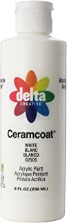 Delta Creative Ceramcoat Acrylic Paint in Assorted Colors (8 oz), , White