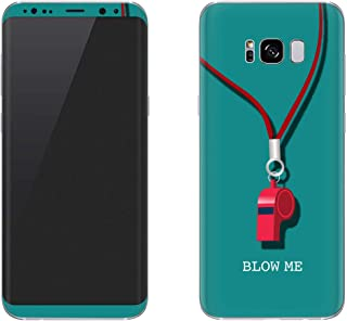 Stylizedd Samsung Galaxy S8 Plus Skin Ultra Premium Vinyl Skin Decal Body Wrap - Blow Me