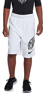 Nike Pro Boy`s Flag Football Shorts (White, X-Large)