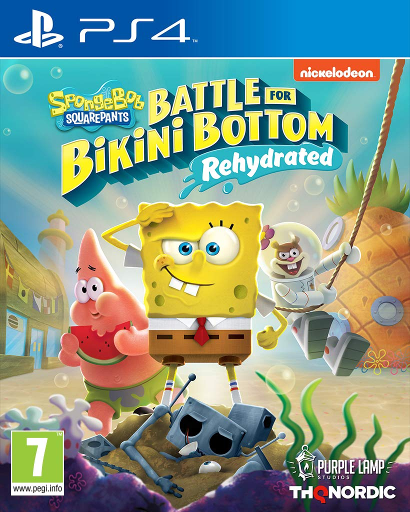 Spongebob Inventory cleanup selling sale SquarePants: Battle for Bikini 25% OFF Rehydrated - Bottom Pl