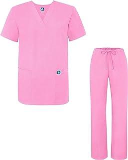 Adar Uniforms médicos Unisex - Uniformes médicos Unisex con cordón