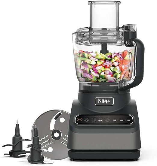 Ninja Food Processor with Auto-iQ [BN650UK] 850W, 2.1L Bowl
