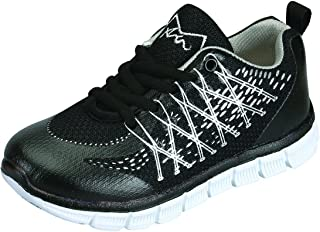Benefit Wear M-AIR Ultra Lightweight, Kids Athletic Lace Sneakers for Boys & Girls