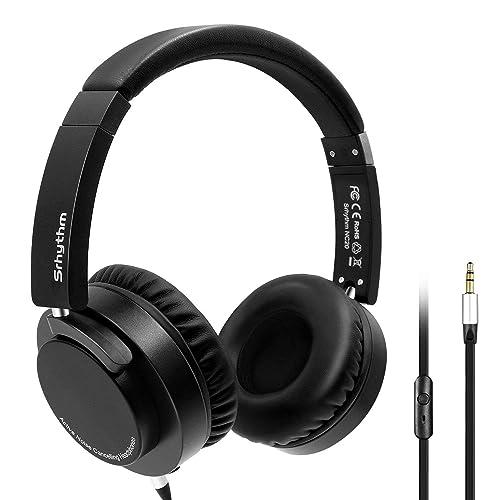 Auriculares Cancelación de Ruido Activa Over Ears con micrófono y rotación multiángulo de hasta 180 Grados