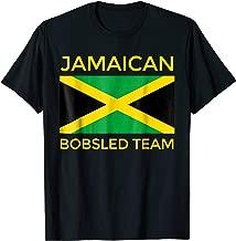 Jamaican Bobsled Team Shirt - Jamaican Flag Bobsled T-Shirt