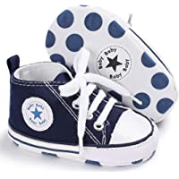 Tutoo Unisex Anti-Slip Kids Canvas Denim Shoes
