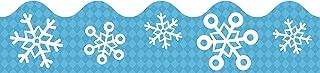 Snowflakes Scalloped Borders