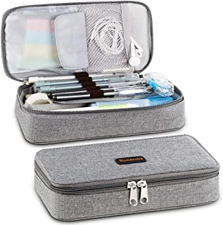 Homecube Pencil Case Big Capacity Pen Marker Holder Pouch Box Makeup Bag Oxford Cloth..