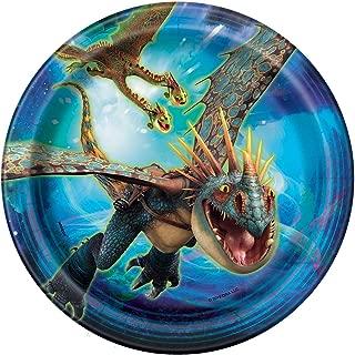 Unique How to Train Your Dragon Dessert Party Plates, 8 Ct.