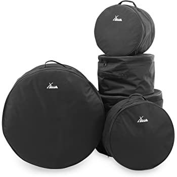 """XDrum Classic Set borse per batteria, misure Stage: 22"""", 10"""", 12"""", 16"""" e 14"""""""