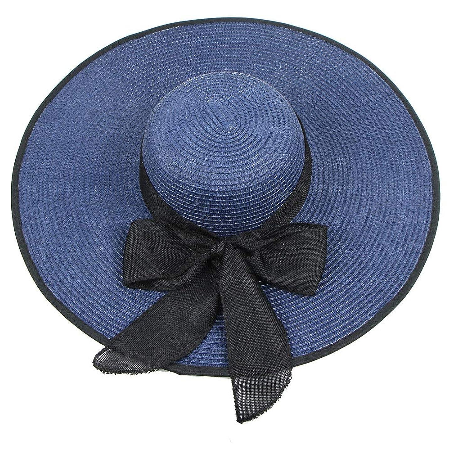サバント黒人幅UVカット 帽子 ハット レディース つば広 折りたたみ 持ち運び つば広 調節テープ 吸汗通気 紫外線対策 おしゃれ 可愛い ハット 旅行用 日よけ 夏季 女優帽 小顔効果抜群 花粉対策 小顔 UV対策 ROSE ROMAN