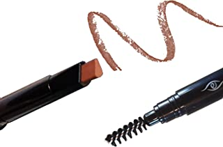 Eye Embrace The Ginge: Auburn Eyebrow Pencil (Waterproof, Double-Ended Automatic Angled Tip & Spoolie Brush, Cruelty-Free)