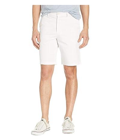 Robert Graham Aldrich Woven Shorts (White) Men