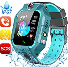 Waterproof Kids Smart Watch – GPS Tracker Smartwatch Phone for Boys Girls –..