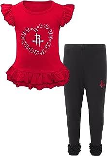 NBA Toddler NBA Toddler Team Love Ruffle Shirt and Pant Set