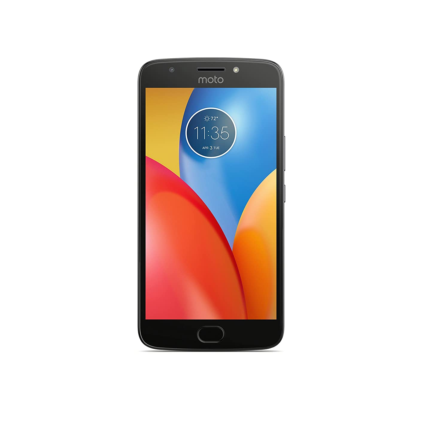 Moto E Plus (4th Generation) - 16 GB - Unlocked (AT&T/Sprint/T-Mobile/Verizon) - Iron Gray