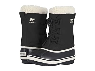 SOREL Kids Yoot Pactm Nylon (Little Kid/Big Kid) (Black 1) Kids Shoes