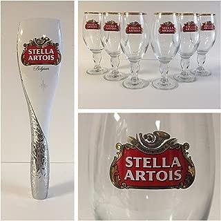 Stella Artois 2016 Estate Series Style Tap Handle & 6 33cl Glasses
