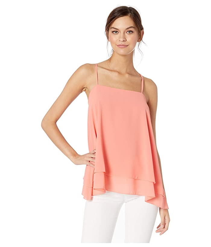 Show Me Your Mumu  Missy Tank (Coral) Womens Clothing