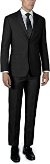 Men's Two Button Slim or Regular Fit Suit in Many Colors