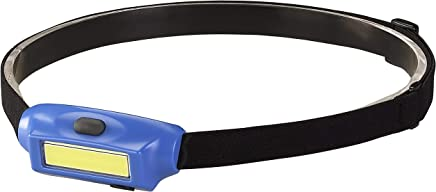 Streamlight 61704 Bandit - Includes Elastic Headstrap & USB Cord - Blue with White LED - Clam - 180 Lumens