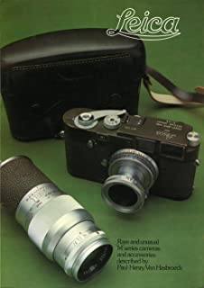 Leica: Rare and Unusual 'M' Series Cameras and Accessories