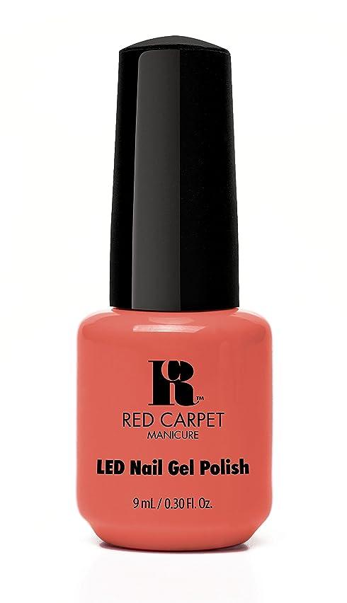 シャーク昆虫心配Red Carpet Manicure - LED Nail Gel Polish - Coral Wishes - 0.3oz / 9ml