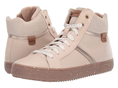Geox Kids Geox x WWF Jr Kalispera 28 (Big Kid) (Light Beige) Girls Shoes