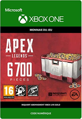 APEX Legends: 6700 Coins | Xbox One - Code jeu à télécharger