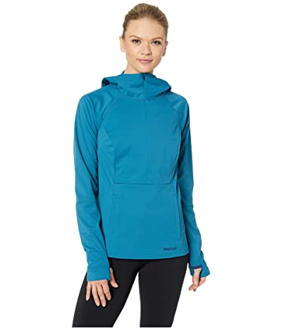 Marmot Zenyatta 1/2 Zip Hoodie (Late Night) Women