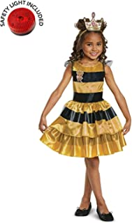 L.O.L Dolls Queen Bee Costume Kit with Safety Light - Kids M