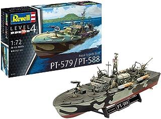 Revell 05165 Patrol Torpedo Boat PT-588/PT-579, modellbyggsats 1:72, 34,1 cm Annan license originaltrogen modellbyggsats f...
