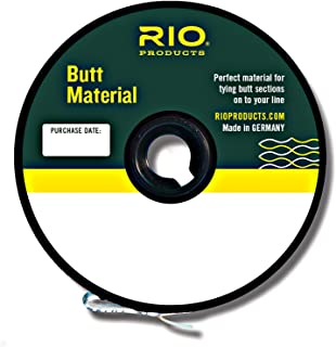 Rio Fly Fishing Butt Material 0.03 for 10/11/12WT 200Yds, Clear