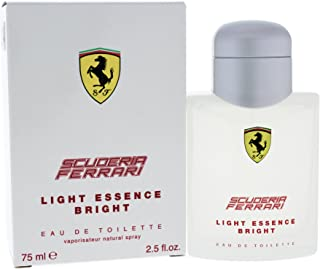 Ferrari Scuderia Light Essence Bright Men's Eau de Toilette Spray, 2.5 Ounce