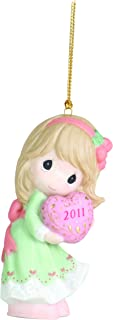 Precious Moments 2011 Dated Ornament Love is The Best Gift of All