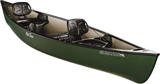 Old Town Saranac 146 Recreational Family Canoe, Green, 14 Feet 6 Inches