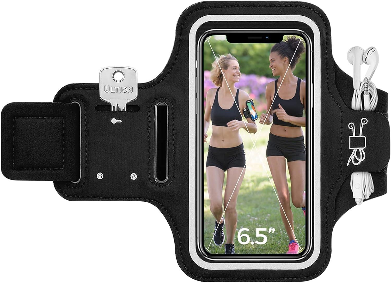 Phone Armband, Comfort Running Armband, Cell Phone Holder Case, 6.5