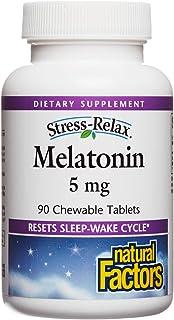 Natural Factors Melatonin 5 mg 90 Tablets