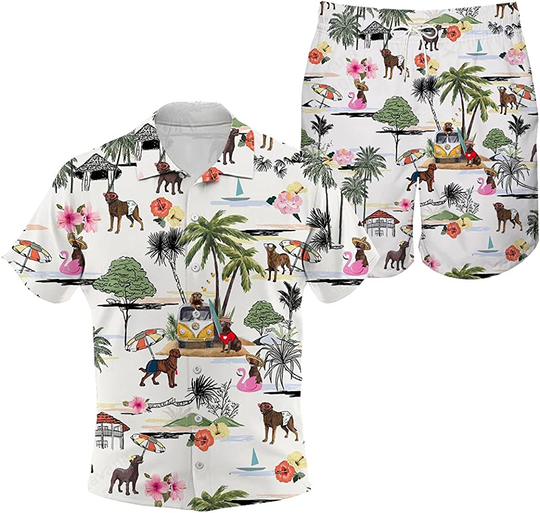 Chesapeake Bay Retriever Ultra-Cheap Deals Hawaiian Shirt Beach Cheap bargain Retro Dog Hawaii H