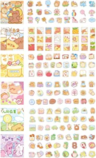 Doraking 300PCS Cute Cartoon Rabbits Decoration Washi Stickers for Scrapbook Planners, 6Themes Lovely Rabbits Stickers (Ye...
