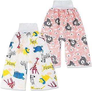 2 Stück Baby Trainingshose Sleepy Windelhose Polster Cotton Potty Underwear Windelunterwäsche