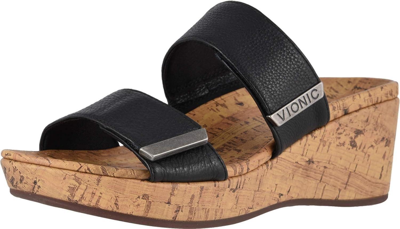 Vionic Women's Atlantic Pepper Manufacturer OFFicial shop Adjustable Platform Ladi - Max 50% OFF Sandal